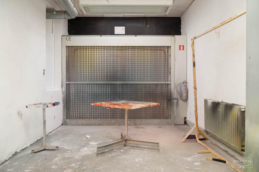 Facultade Belas Artes Pontevedra, fotografía de interiores